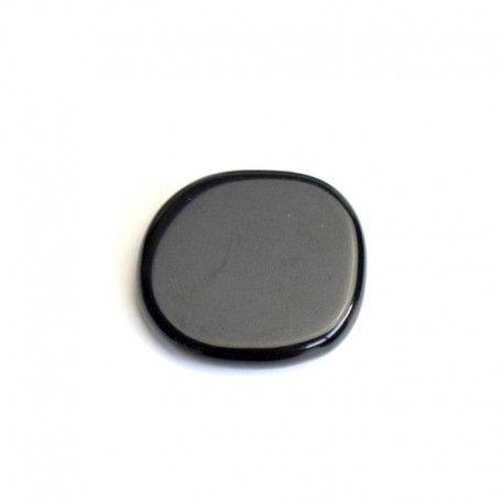 Piedra Chakra Obsidiana Negra