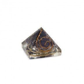 Piramide Orgonita Mini Grabada tercer ojo