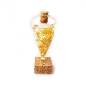 Oro 22 kts Anfora Con Caja de Colección
