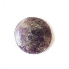 Piedra Chakra Amatista Redondo