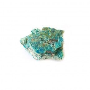 Piedra Crisocola en caja de 4x4 cm