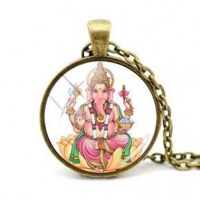 Colgante Ganesha elefante hindú