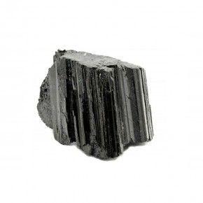 Piedra Turmalina Negra Mediana en Bruto