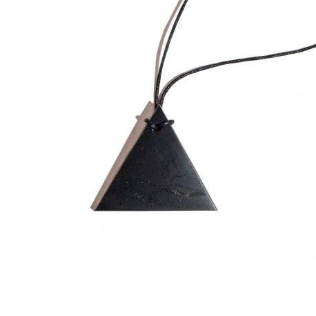 Colgante Shungit Triangulo
