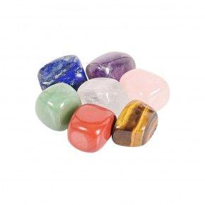 Piedras Chakras Grandes Set de 7 minerales