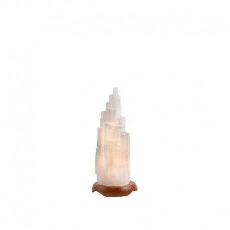 LAMPARA DE SELENITA 12-15 cm