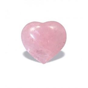 Corazón de Cuarzo Rosa 10 cm