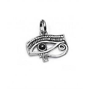 Colgante de Ojo De Horus Plata 2 cm