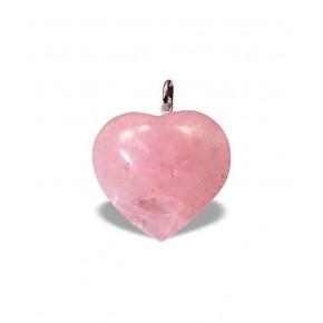 Colgante de Cuarzo Rosa 2,2 cm
