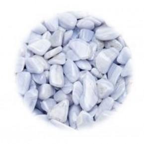 Rodados Calcedonia Azul 250 gr