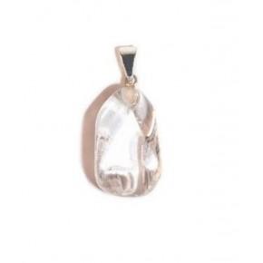 Colgante de Cuarzo Blanco 2 cm