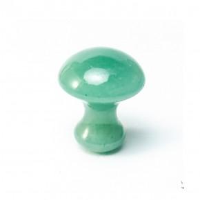 Masejador de Jade Verde Champiñón 3.5 cm
