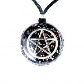 Colgante de Orgonita Pentagrama 3 cm