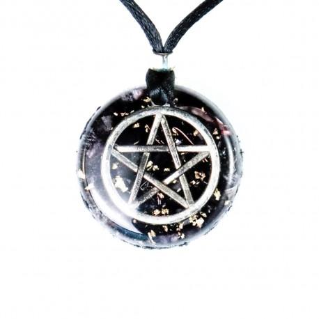 ORGONITA colgante pentagrama 3 cm