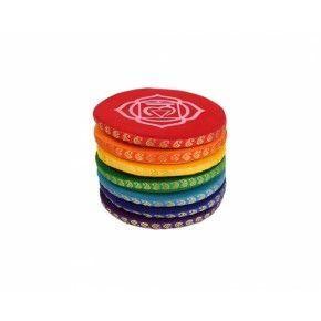 Set de 7 Cojines Para Cuenco Tibetano 9,5 cm