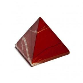 Pirámide de Jaspe Rojo 2,5 cm