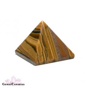 Pirámide de Ojo de Tigre 3 cm