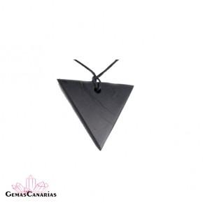 Colgante de Shungit Triángulo Invertido