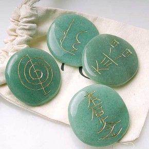 Chakras de Aventurina Verde Reiki
