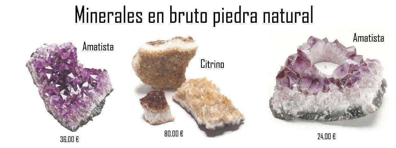 Minerales en Bruto