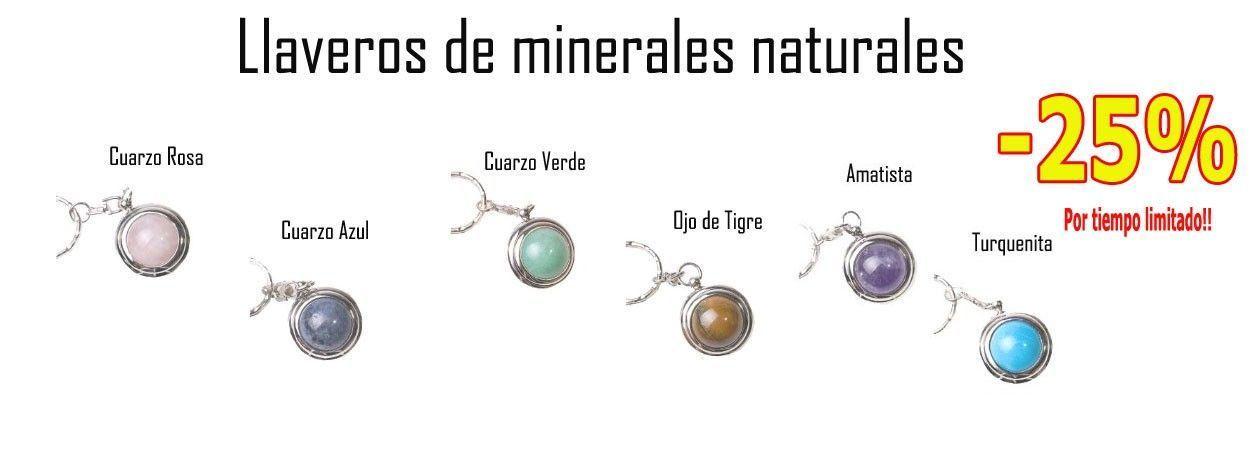 Llaveros de minerales